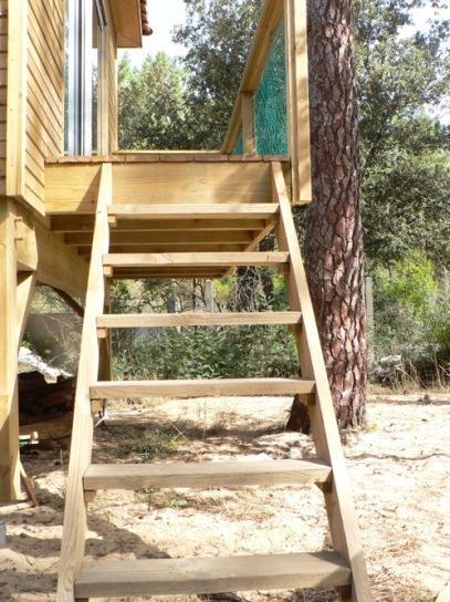 the Tiny House's access / l'acces au Tiny House